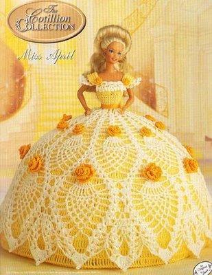 Для платья барби вязание для кукол