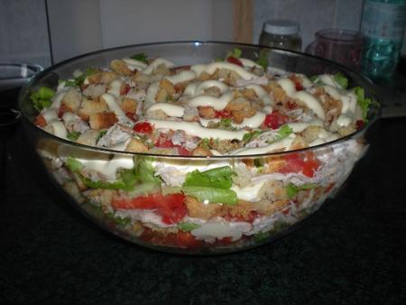 Салаты в домашних условиях рецепт с фото пошагово