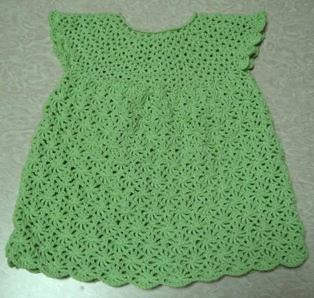 Очередное платье крючком