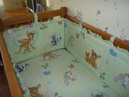 Сшить бортик на детскую кроватку своими руками