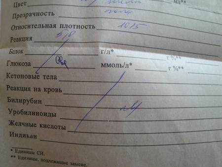 Распечатка общего анализа мочи Сертификат о профилактических прививка Автозаводская (14 линия)
