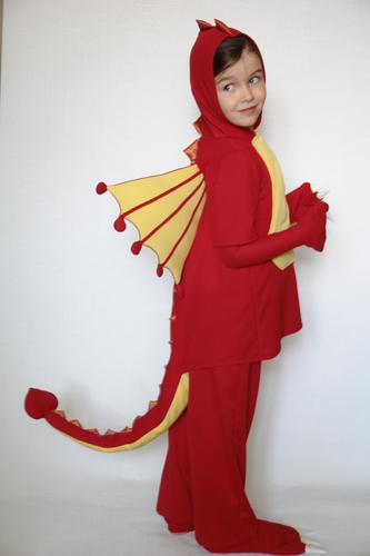 Новогодний костюм дракон своими руками - GumerovOleg.ru