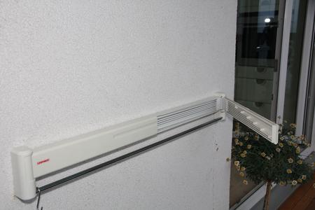 Сушки для белья настенные на балкон германия.