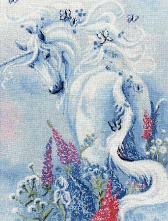 Катерина: Лошадь в маках