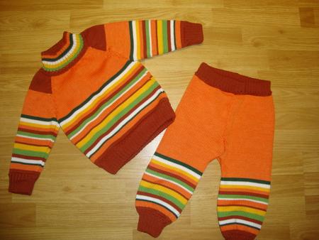 Вяжем штанишки детям