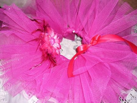 Юбка из фатина - light pink