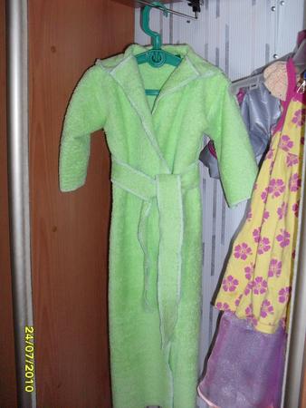 Выкройка халата детского Раскладка на