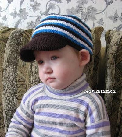 Крючок кепка для мальчика