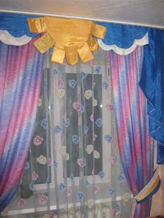 Сшить шторы в детскую фото 64