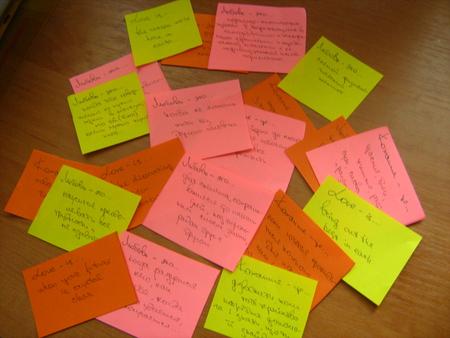 Как сделать сюрприз с записками любимому