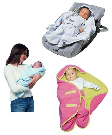 Выкройка Конверта для новорожденного.