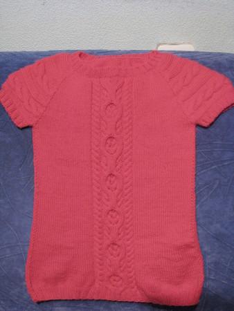 Малиновое платье от GAP.