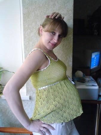 Вязание крючком - Беременная