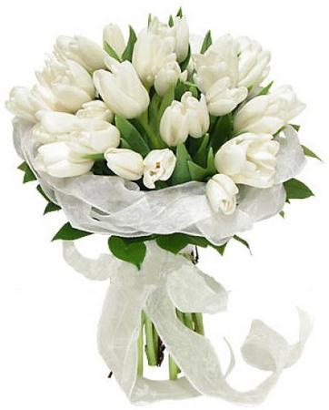 Букеты тюльпанов своими руками