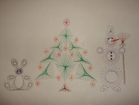 зайца и снеговика,
