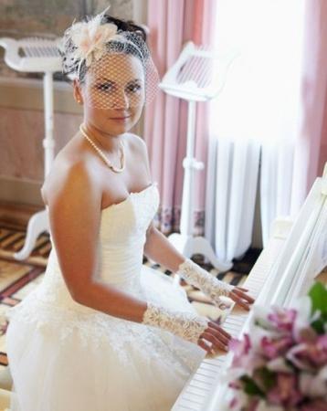 Всё для свадьбы вуаль
