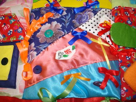 Развивающий коврик для детей своими руками (36 фото как) 24