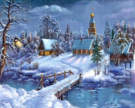 Картинки про зима новый год