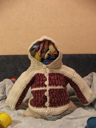 Вязание для детей из толстой пряжи 60