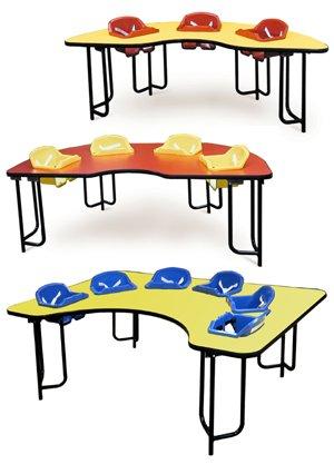 Столик для кормления для двойни
