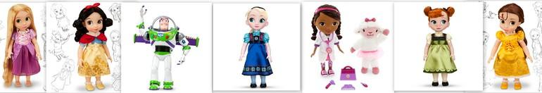 Оригинальные куклы Disney из США! Скоро в наличии!!! Rapunzel, Belle, SnowWhite, Buzz и др