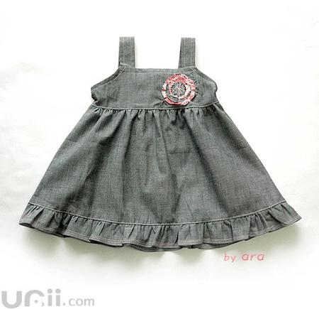 Рисунок выкройки детского платья