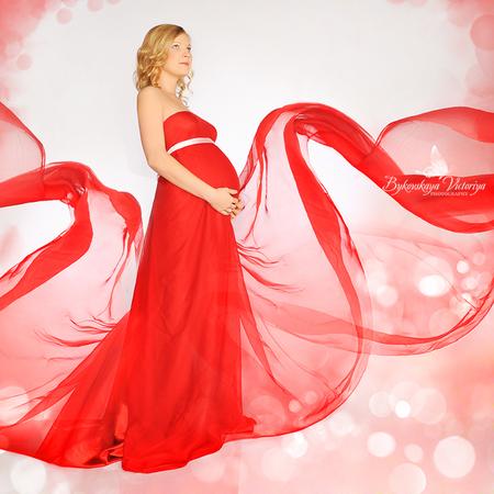 Как сделать платье для беременной