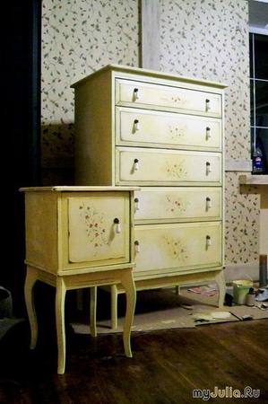 Изготовление мебель в стиле прованс своими руками
