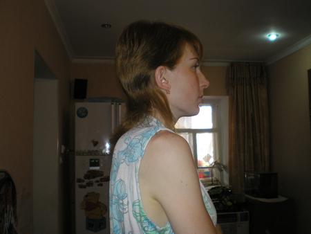Волосы длинные надоели