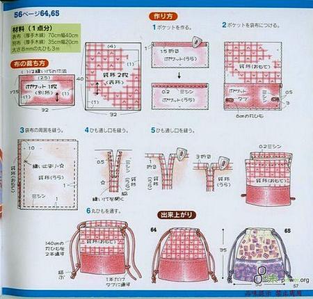 Как сшить мешок для обуви