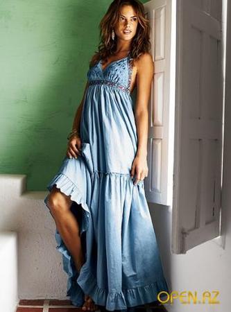 летние длинные платья фото - фото.