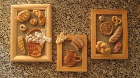 Поделки из теста хлеб 254