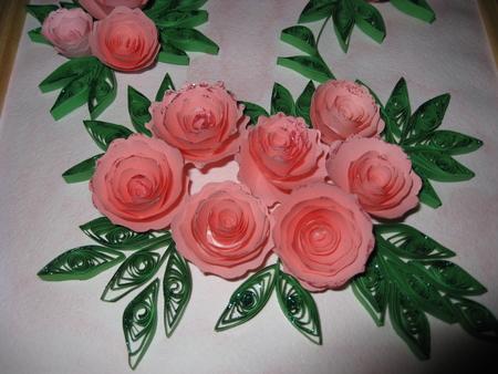 Как сделать розу из квиллинга своими руками 53