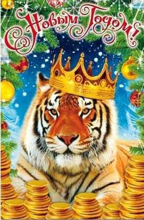 фото годом тигра