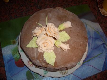 фото как украсить торт мастикой
