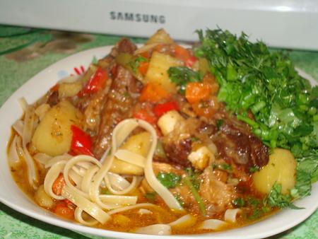 таджикский лагман рецепт с фото