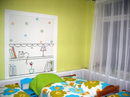 Потолок в детской потолок в детской