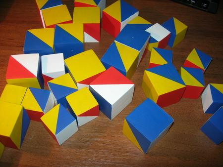 Кубики Никитина. - кубики