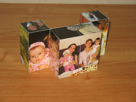 Фото кубик своими руками