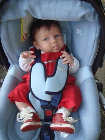 Не вредно ли сажать новорожденного в автокресло 64