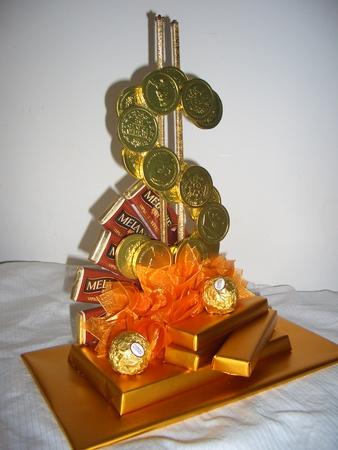 Букеты из конфет к юбилею своими руками мужчине