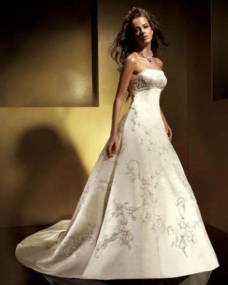 ...свадебных нарядах, то по-моему, нет красивее и изысканее европейских...