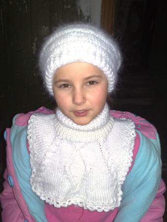 манишка спицами для детей схемы - Выкройки одежды для детей и взрослых.