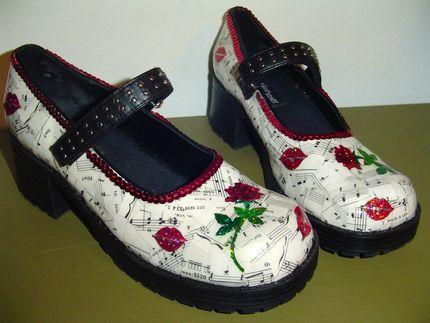 Реставрация детской обуви своими руками декупаж 64
