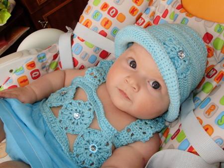 Вязаные детские шапочки - Забавная