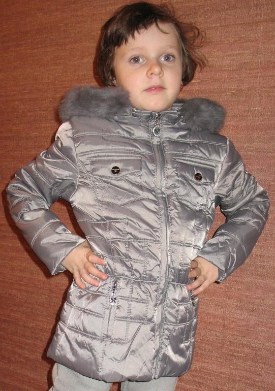 Ликвидация! Демисезонная куртка для девочек Италия Coconudina 3-7 лет
