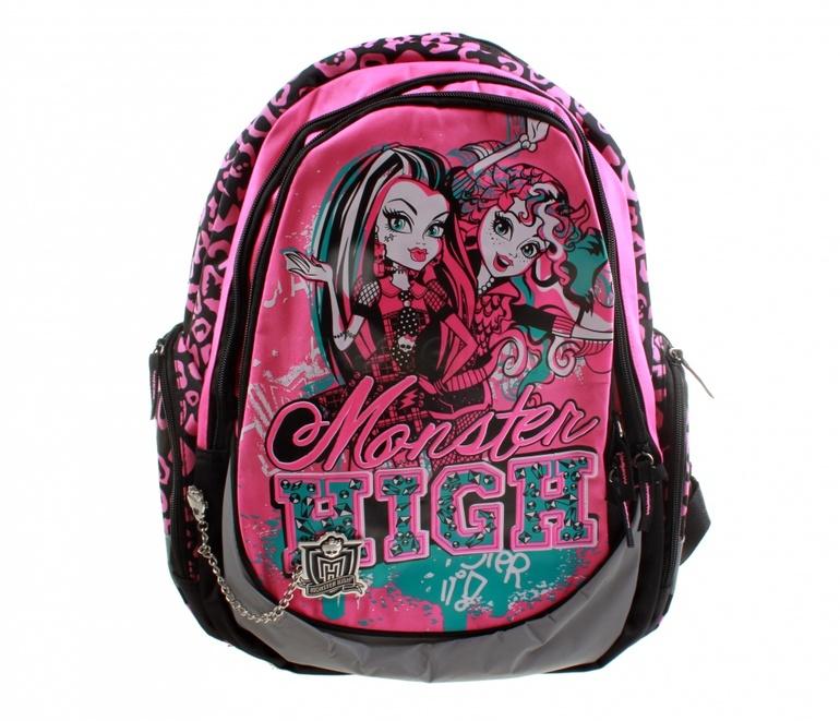 Купить школьный рюкзак монстер хай