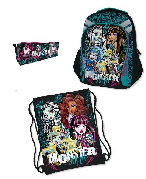 Школьные рюкзаки для девочек монстр хай рюкзаки шайдерс